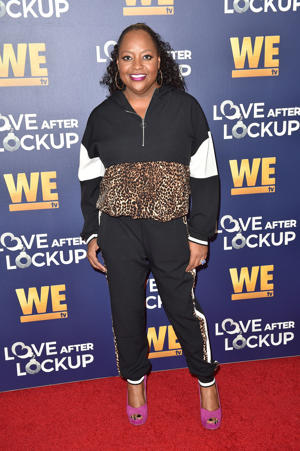 Sherri Shepherd arrives for WE tv celebrates the return of 'Love After Lockup' on December 11, 2018 at the Paley Center For Media in Beverly Hills, California. (Photo by Robyn Beck / AFP)        (Photo credit should read ROBYN BECK/AFP/Getty Images)