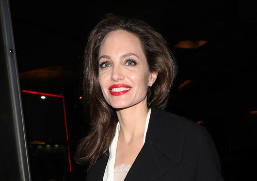 Slide 1 of 5: Angelina Jolie arrives at the BFI for the 'Preventing Sexual Violence in Conflict Film Festival' on November 23, 2018 in London, England.