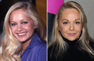 LOS ANGELES - SEPTEMBER 1980: Actress Charlene Tilton attends an event in September 1980 in Los Angeles, California. (Photo by Ron Eisenberg/Michael Ochs Archives/Getty Images); PARSIPPANY, NJ - OCTOBER 27: Charlene Tilton attends Chiller Theater Expo Winter 2017 at Parsippany Hilton on October 27, 2017 in Parsippany, New Jersey. (Photo by Bobby Bank/Getty Images)