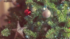 A nice decorated christmas tree