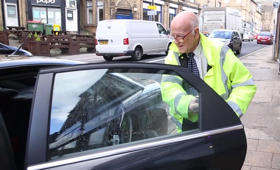 Meet 'Britain's oldest' takeaway driver at the grand age of 82