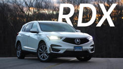 a car parked in a parking lot: 2019 Acura RDX Road Test