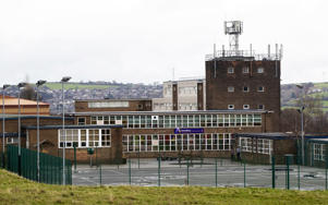 Almondbury Community School in Huddersfield where a 16-year-old boy is to be charged with assault over an attack on a 15-year-old Syrian refugee after a violent video was widely shared on social media.