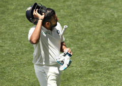 'Rohit's dismissal down to lack of focus'