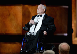 Writer Ron Kovic speaks onstage at the Dolby Theatre on June 5, 2014 in Hollywood, California.