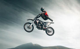 Moto freestyle sport photo
