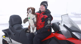 'Her nose is worth a million transceivers': UK's first avalanche rescue dog