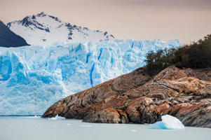 Detail of Perito Moreno glacier Argentino Lake Los Glaciares National Park Patagonia Argentina South America. (Photo by: Salvatore Leanza/ClickAlps/REDA&CO/UIG via Getty Images)