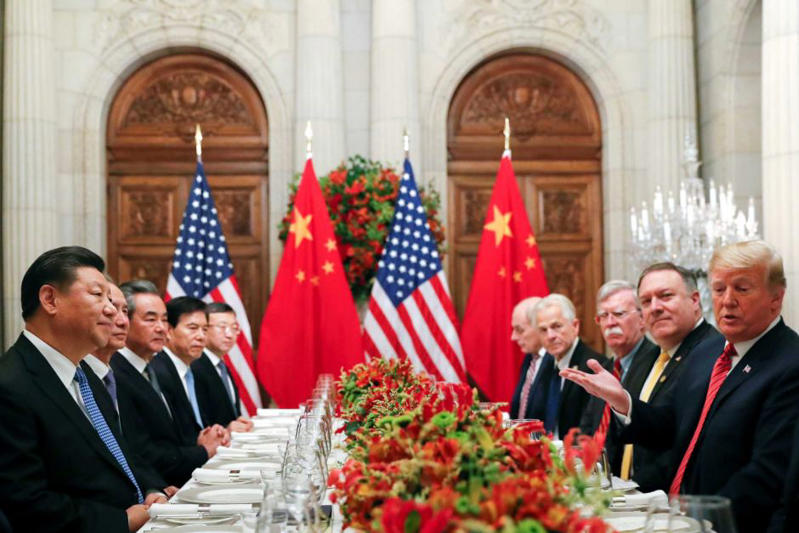 There are fears the relationship between the US and China is cooling.