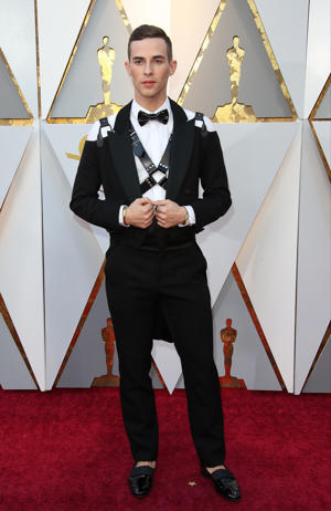 Olympian Adam Rippon attends the 90th Annual Academy Awards at Hollywood & Highland Center on March 4, 2018 in Hollywood, California.