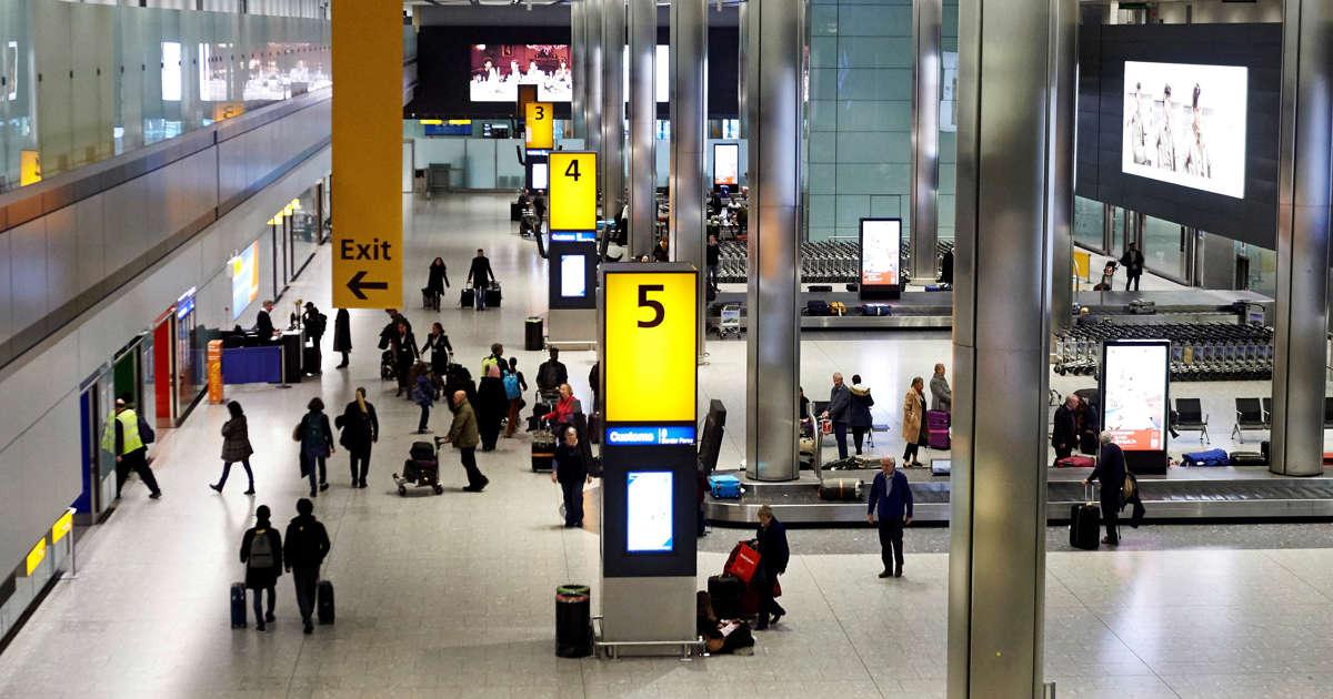 London's Heathrow halts flights after sightings of a drone