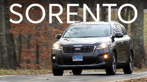 a car parked on the side of a road: 2019 Kia Sorento Road Test
