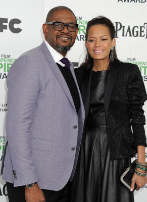 Forest Whitaker wearing a suit and tie: Forest Whitaker and his wife of 22 years are calling it quits. The screen legend filed documents in Los Angeles on Dec. 27, signaling an end to his marriage to Keisha Nash Whitaker. The cause of the split isn't known. TMZ noted that initial documents were unclear as to whether Forest was filing for divorce or a legal separation. However, The Blast said he filed for divorce. The two married in 1996 and share three adult daughters.