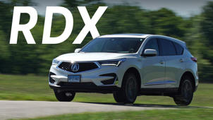 a car parked in a parking lot: 2019 Acura RDX Quick Drive