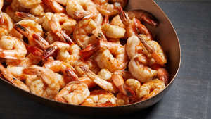 WASHINGTON, DC - JANUARY 2 :  Clean out your spice drawer roundup - Spiced Shrimp. Photographed for Voraciously at The Washington Post via Getty Images in Washington DC. (Tom McCorkle for The Washington Post via Getty Images; food styling by Bonnie S. Benwick/The Washington Post via Getty Images).