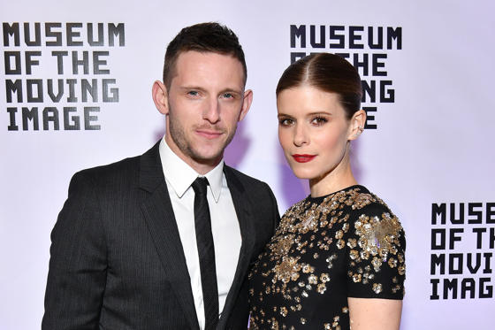 Slide 1 of 20: NEW YORK, NY - DECEMBER 13:  Jamie Bell (L) and Kate Mara attend the Museum of the Moving Image Salute to Annette Bening at 583 Park Avenue on December 13, 2017 in New York City.  (Photo by Dia Dipasupil/Getty Images)