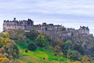 'Edinburgh Castle, Scotland, United Kingdom'