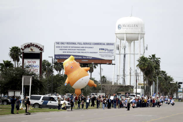 Amid shutdown, Trump visits Texas in effort to boost argument for border wall BBS4URH