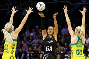 Australia Diamonds vs New Zealand Silver Ferns at TSB Arena on October 18, 2018