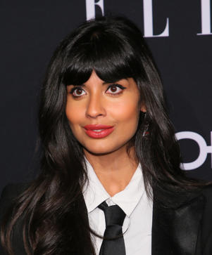 Jameela Jamil attends the 25th Annual ELLE Women in Hollywood Celebration at Four Seasons Hotel Los Angeles at Beverly Hills on October 15, 2018 in Los Angeles, California.
