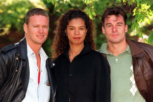 'Bugs' co-stars Craig McLachlan, Jaye Griffiths and Jesse Birdsall