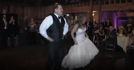 Bride and dad surprise wedding guests with amazing dance