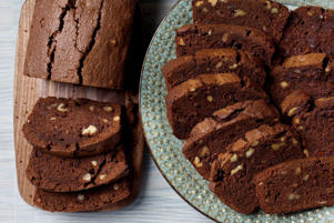 WASHINGTON, DC - OCTOBER 9: Triple chocolate loaf cakes photographed in Washington, DC on October 9, 2018. (Photo by Deb Lindsey for The Washington Post via Getty Images; food styling by Lisa Cherkasky for The Washington Post via Getty Images).