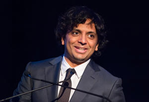 PHILADELPHIA, PA - OCTOBER 20:  Film director M. Night Shyamalan, the first annual Lumiere award recipient, attends Philadelphia Film Society's 25th Annual Philadelphia Film Festival Celebration to Kick-off at AKA Washington Square on October 20, 2016 in Philadelphia, Pennsylvania.  (Photo by Gilbert Carrasquillo/Getty Images)