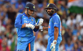 'MS Dhoni's innings did not help Rohit Sharma'