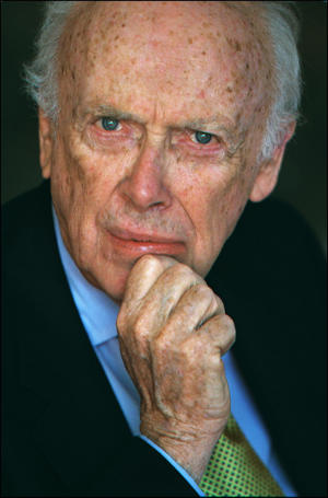 James Watson, Nobel Prize of Medicine in 1962 and co-discoverer of DNA