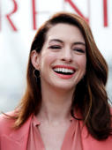 "Cast member Anne Hathaway attends a photocall for the film ""Serenity"", in Marina del Rey, California, U.S., January 11, 2019. REUTERS/Mario Anzuoni"