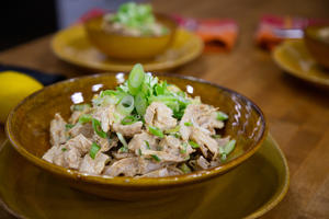 TODAY -- Pictured: Tahini Chicken Salad on Tuesday, October 9, 2018 -- (Photo by: Nathan Congleton/NBC/NBCU Photo Bank via Getty Images)