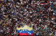Opposition supporters take part in a rally against Venezuelan President Nicolas Maduro's government and to commemorate the 61st anniversary of the end of the dictatorship of Marcos Perez Jimenez in Caracas, Venezuela January 23, 2019.