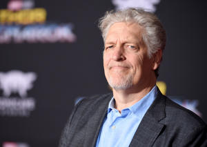 "Clancy Brown arrives at the world premiere of ""Thor: Ragnarok"" at the El Capitan Theatre on Tuesday, Oct. 10, 2017, in Los Angeles."