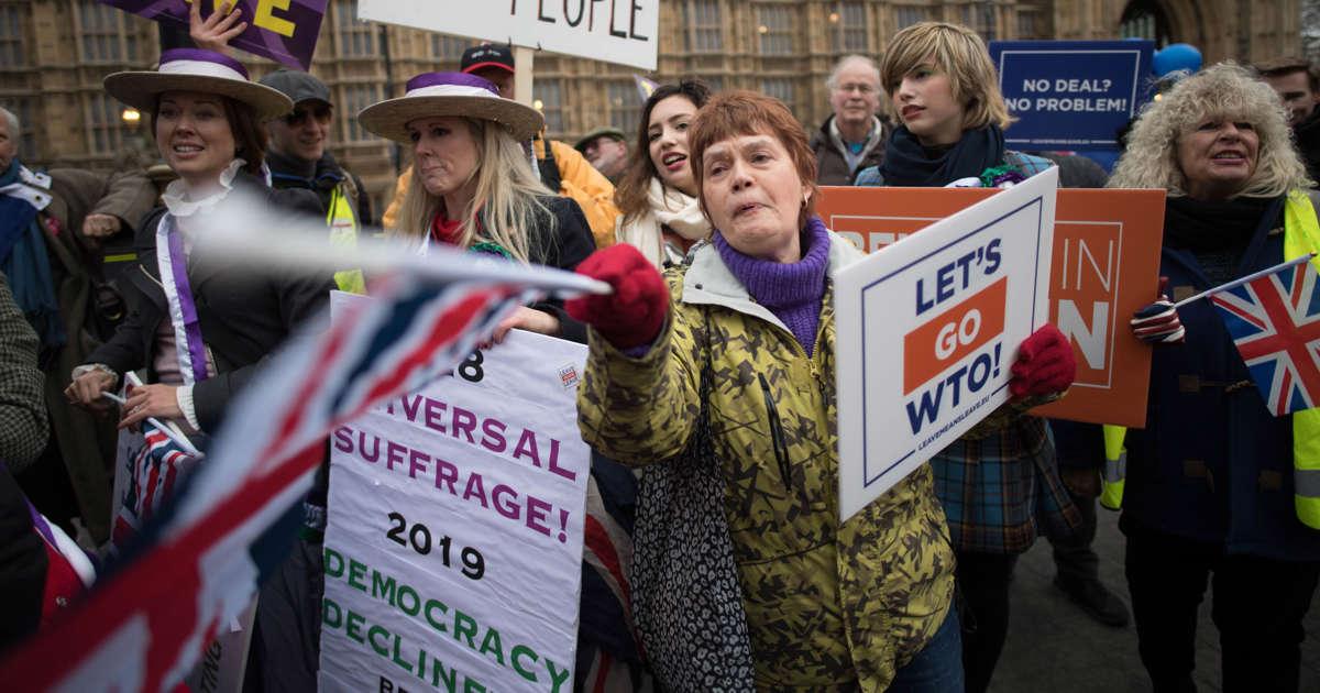 British lawmakers instruct May to demand EU reopen Brexit deal; EU says 'No'