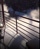 Boiling water becomes dense cloud in Chicago wind as temperatures plummet