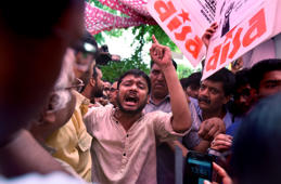 Chargesheet filed against Kanhaiya, nine others