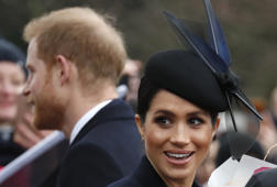 Meghan discusses pregnancy on first official appearance of 2019