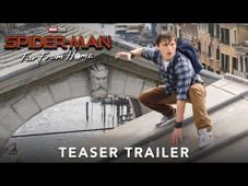 Watch the #SpiderManFarFromHome teaser trailer now. 7.5.19 🕷️  https://spidermanfarfromhome.movie  Follow Us on Social: https://www.facebook.com/SpiderManMovie https://www.instagram.com/SpiderManMovie/ https://twitter.com/SpiderManMovie  Subscribe to Sony Pictures for exclusive content: http://bit.ly/SonyPicsSubscribe  Peter Parker returns in Spider-Man: Far From Home, the next chapter of the Spider-Man: Homecoming series! Our friendly neighborhood Super Hero decides to join his best friends Ned, MJ, and the rest of the gang on a European vacation. However, Peter's plan to leave super heroics behind for a few weeks are quickly scrapped when he begrudgingly agrees to help Nick Fury uncover the mystery of several elemental creature attacks, creating havoc across the continent!  #SpiderMan #PeterParker #TomHolland #JakeGyllenhaal #Zendaya #Marvel #Sony #Trailer #OfficialTrailer