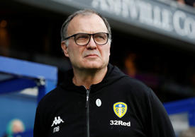 Soccer Football - FA Cup Third Round - Queens Park Rangers v Leeds United - Loftus Road, London, Britain - January 6, 2019   Leeds manager Marcelo Bielsa   Action Images/Paul Childs
