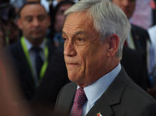 LIMA, PERU - 2018/04/14: Sebastian Piñera President of Chile in the framework of the VIII Summit of the Americas. The event takes place on April 13rd and 14th, 2018 at Lima, Peru, and has as its central theme: 'Democratic Governance Against Corruption'. (Photo by Fotoholica Press/LightRocket via Getty Images)