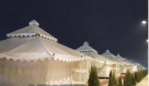 A peek into luxury 5-star tents at Kumbh Mela