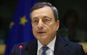 File: President of the European Central Bank (ECB), Mario Draghi