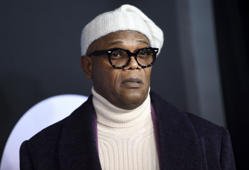 "Actor Samuel L. Jackson attends the premiere of ""Glass"" at the SVA Theatre on Tuesday, Jan. 15, 2019, in New York. (Photo by Evan Agostini/Invision/AP)"
