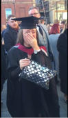 Woman surprised at graduation with marriage proposal