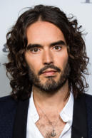LONDON, ENGLAND - OCTOBER 14:  Russell Brand takes part in a discussion at Esquire Townhouse, Carlton House Terrace on October 14, 2017 in London, England.  (Photo by Jeff Spicer/Getty Images)