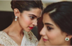 Deepika Padukone helping her friend get ready for her wedding. (Instagram)