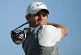File: Rory McIlroy of Northern Ireland plays his shot from the second tee on the South Course during the third round of the the 2019 Farmers Insurance Open