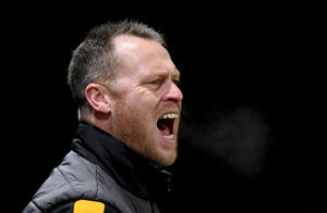 NEWPORT, WALES - FEBRUARY 12: Newport County Manager Michael Flynn during the Sky Bet League Two match between Newport County and Milton Keynes Dons at Rodney Parade on February 12, 2019 in Newport, United Kingdom. (Photo by Alex Davidson/Getty Images)
