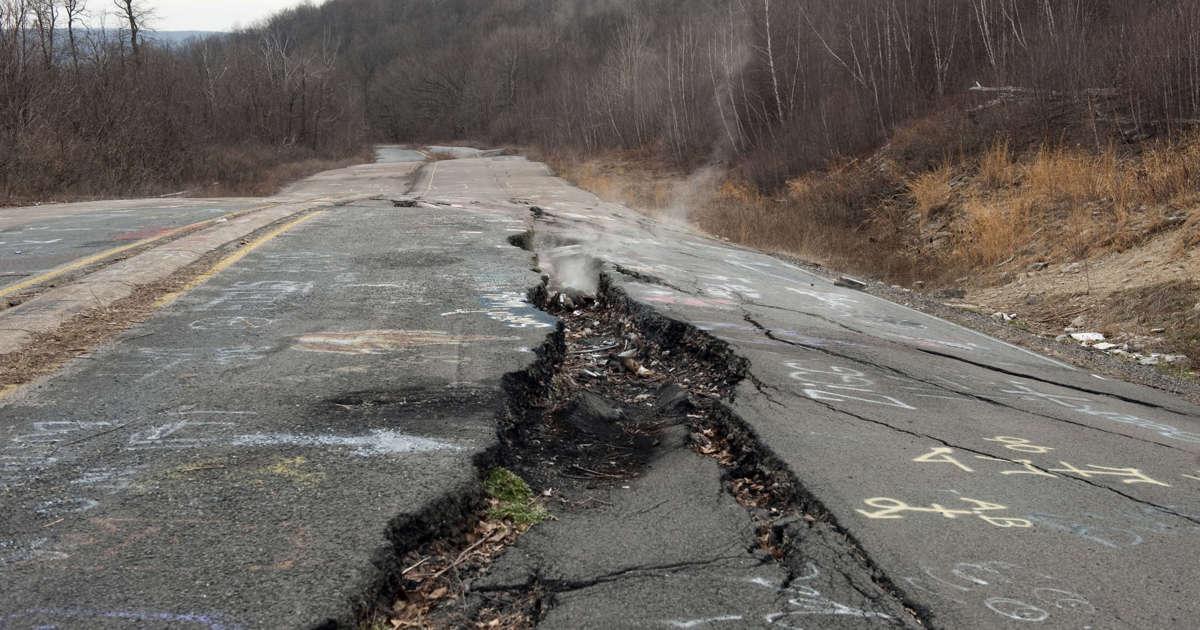 Officials: Centralia sinkhole unrelated to underground fire
